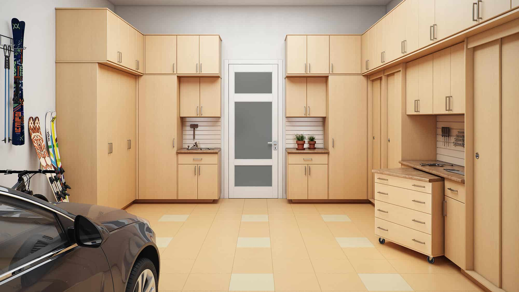 Custom Garage Closets Cabinets And Storage Organizers